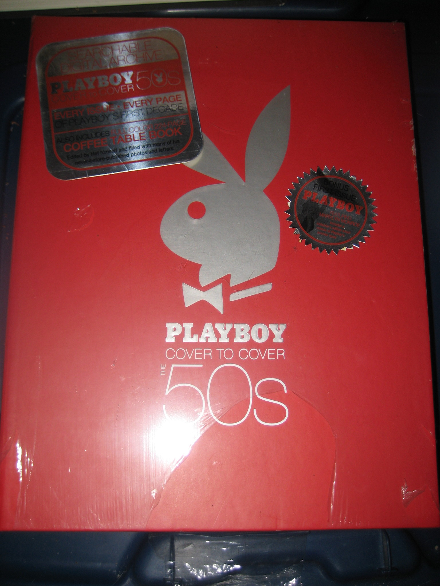 Playboy cover to cover the 50's