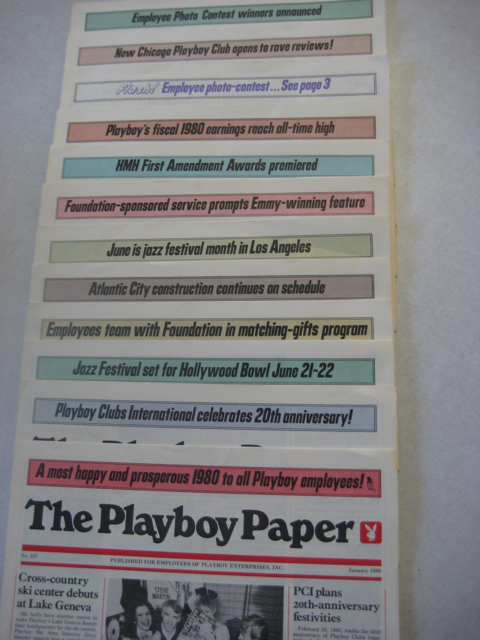 The Playboy Paper full year 1980