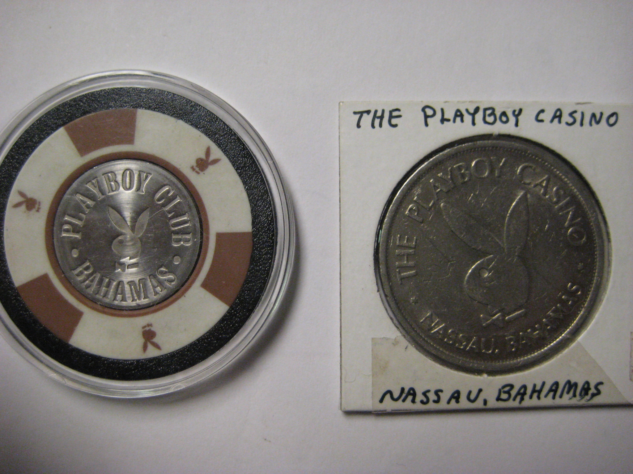 Playboy Bahamas One Dollar Chip