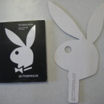 Butterfields Playboy Auction Catalogue and Bidding Plaque 2002