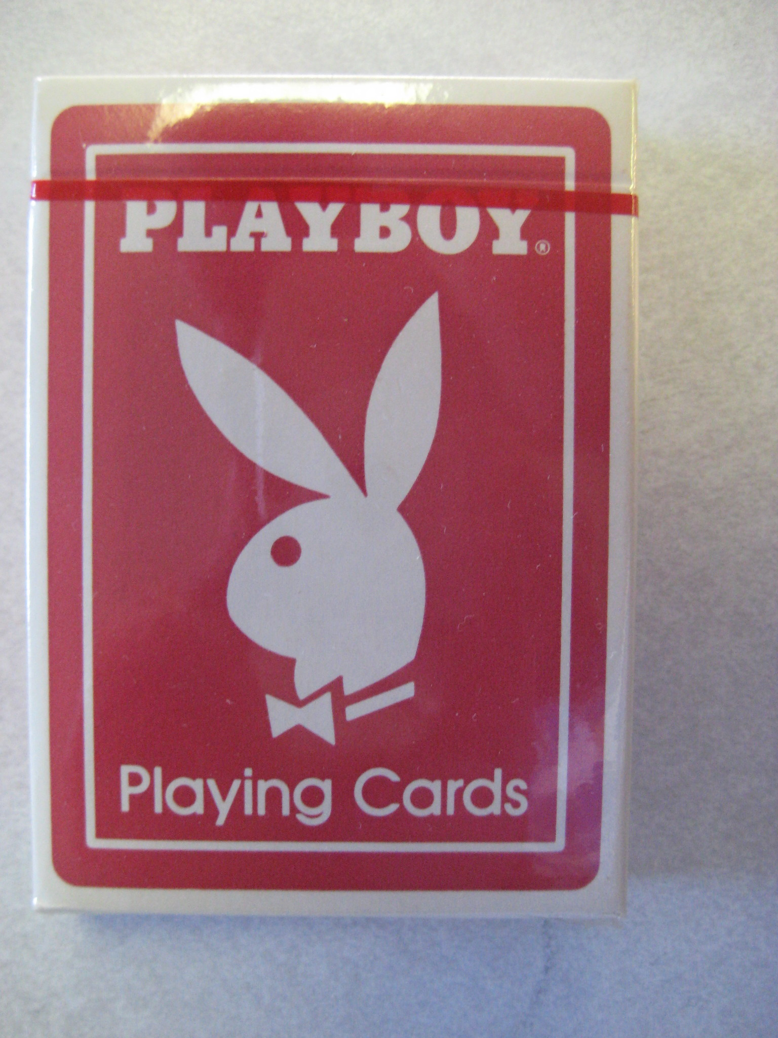 Playboy Red Deck of Cards AK7206