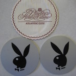 Playboy Hotel and Casino Atlantic City Coasters