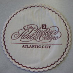 Playboy Hotel And Casino Atlantic City Paper Coaster