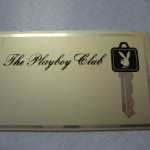 The Playboy Club Blank Metal Key Card