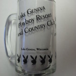Playboy Club Lake Geneva Clear Mug