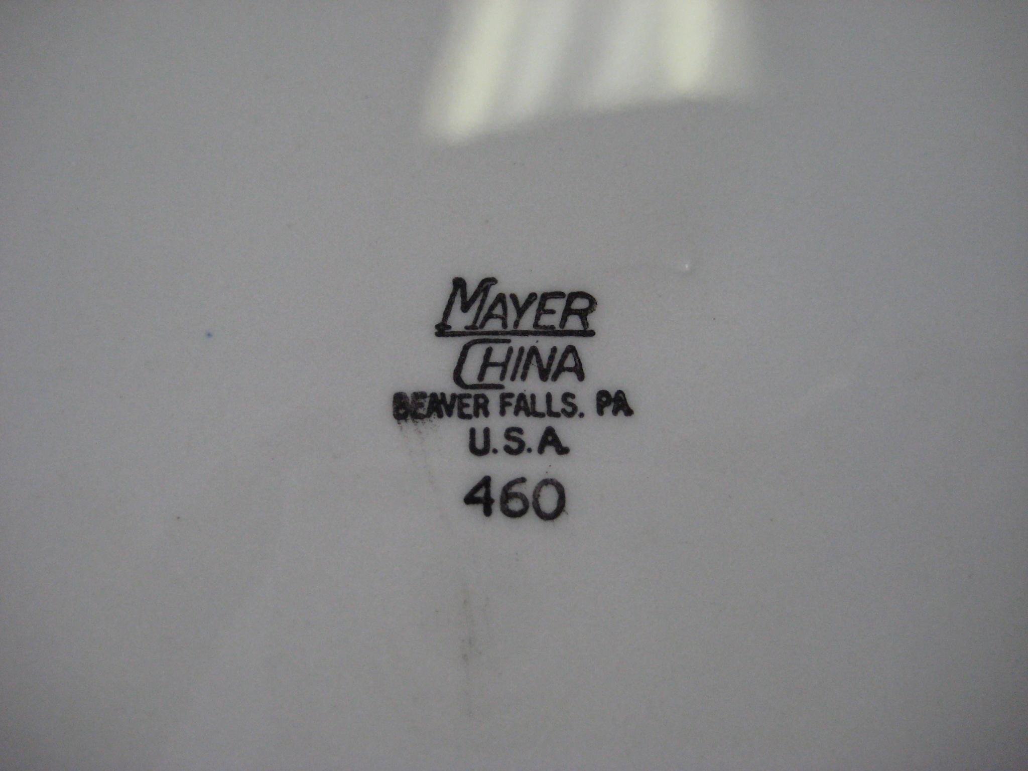 Playboy club Mayer China 460 Plate