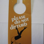 Playboy Femlin Do Not Disturb Door hanger