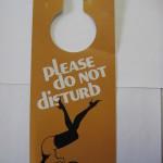Playboy Femlin Do Not Disturb Door hanger