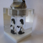 Femlin model acrylic lighter