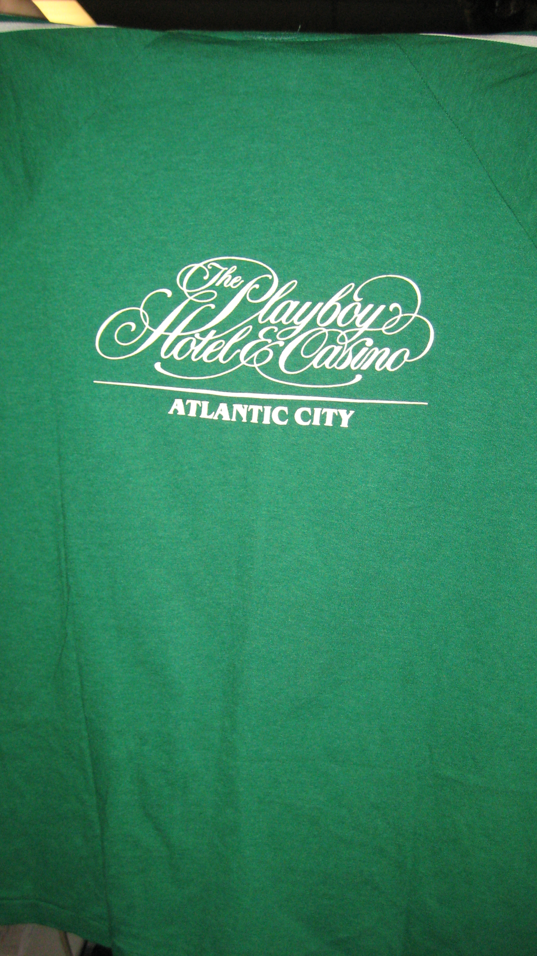Playboy Atlantic City Green T-Shirt
