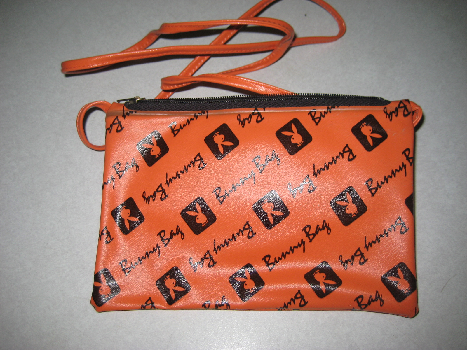 Orange Bunny Bag