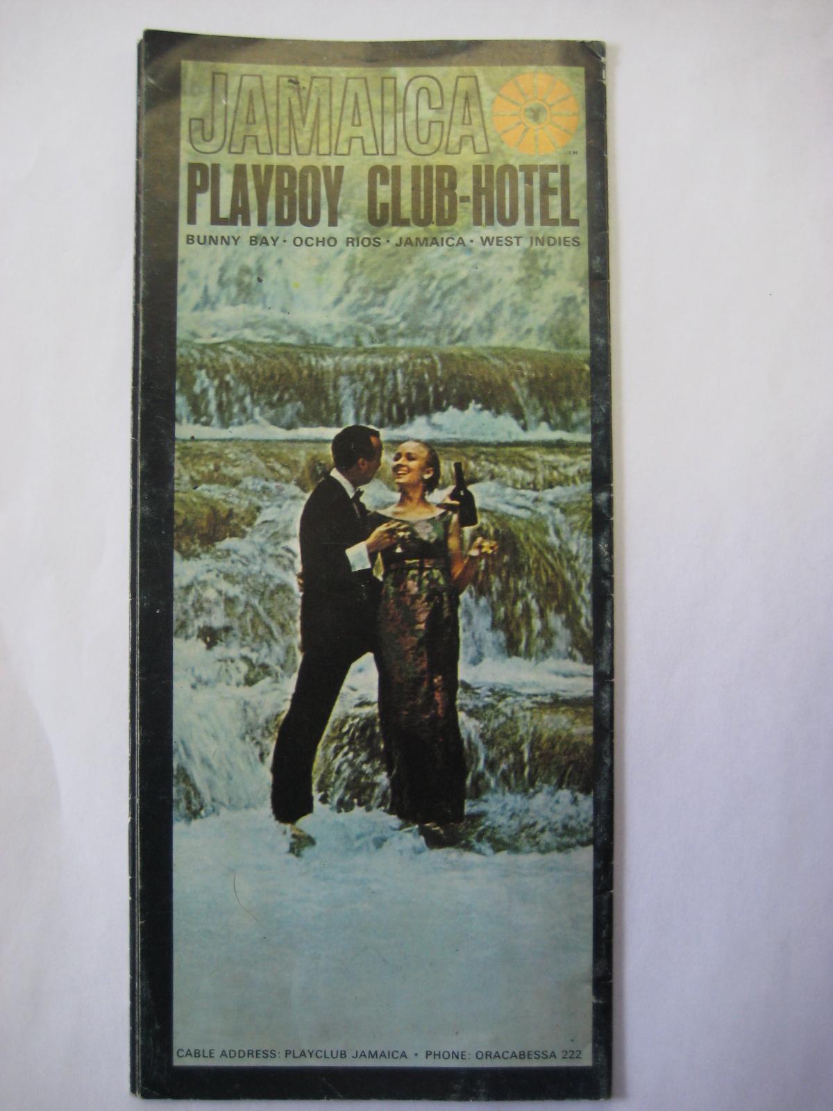 Jamaica Playboy Club Travel Brochure
