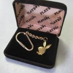 Playboy Bunny Keychain boxed