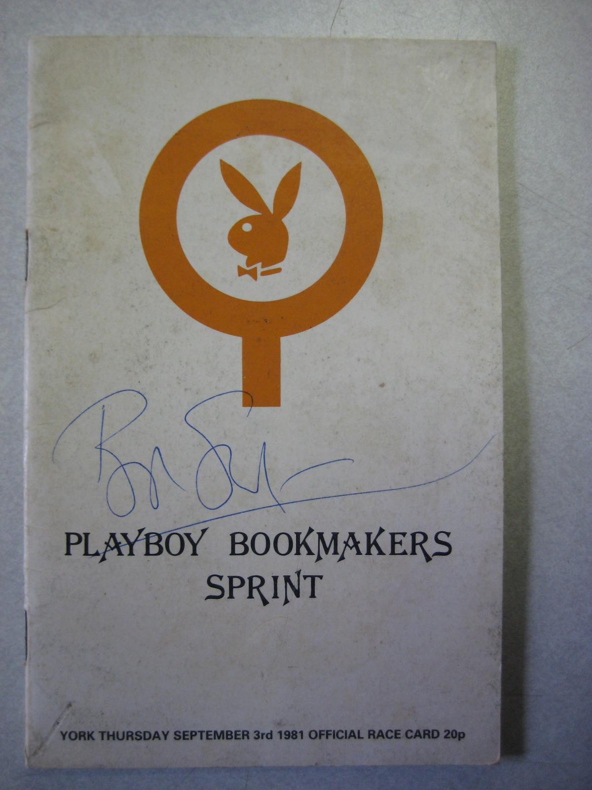 Playboy London Sports Book