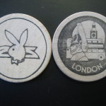 London Playboy Club Wooden Nickel