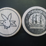 Portsmouth Playboy Club Wooden Nickel