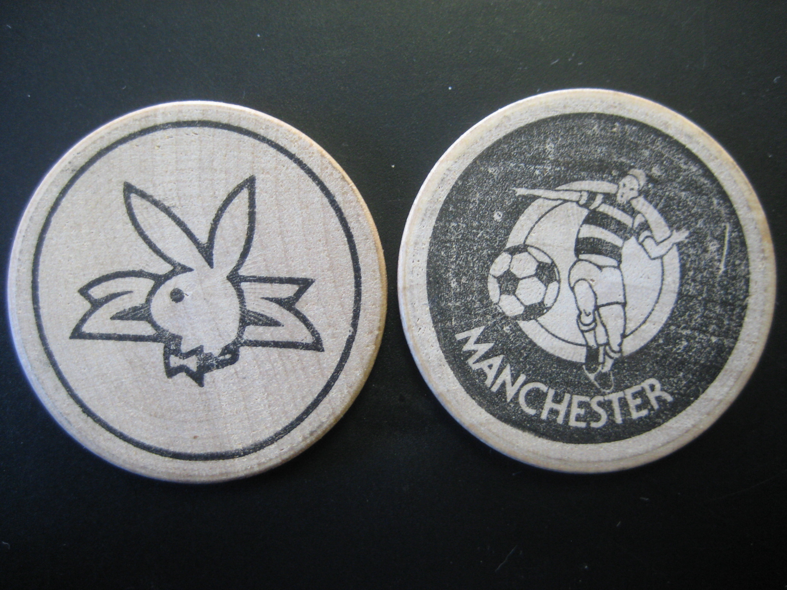 Manchester Playboy Club Wooden Nickel