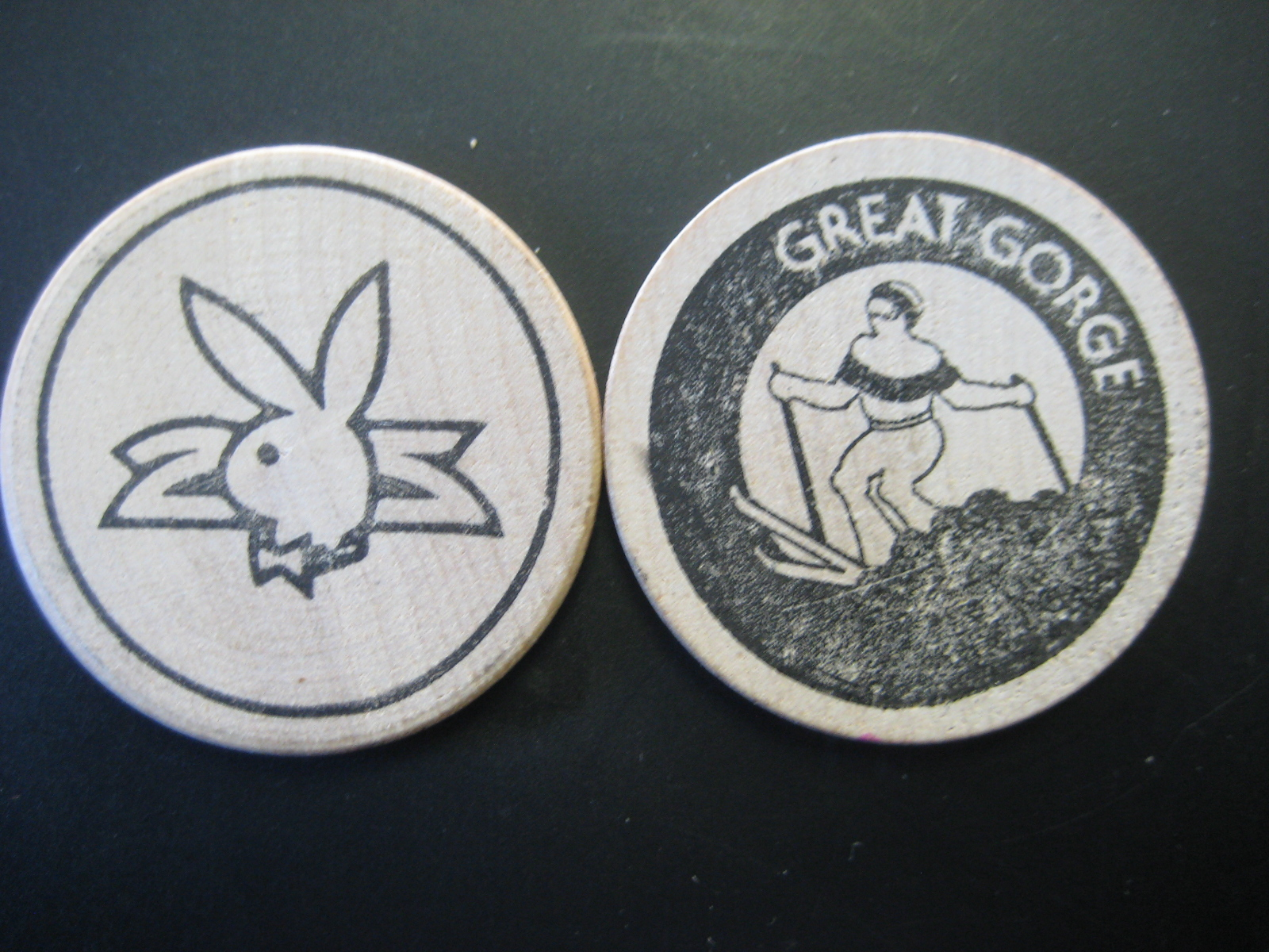 Great Gorge Playboy Club Wooden Nickel