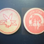 Playboy Club New York Wooden Nickel