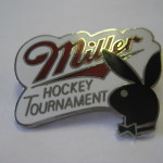 Playboy Hockey Pin