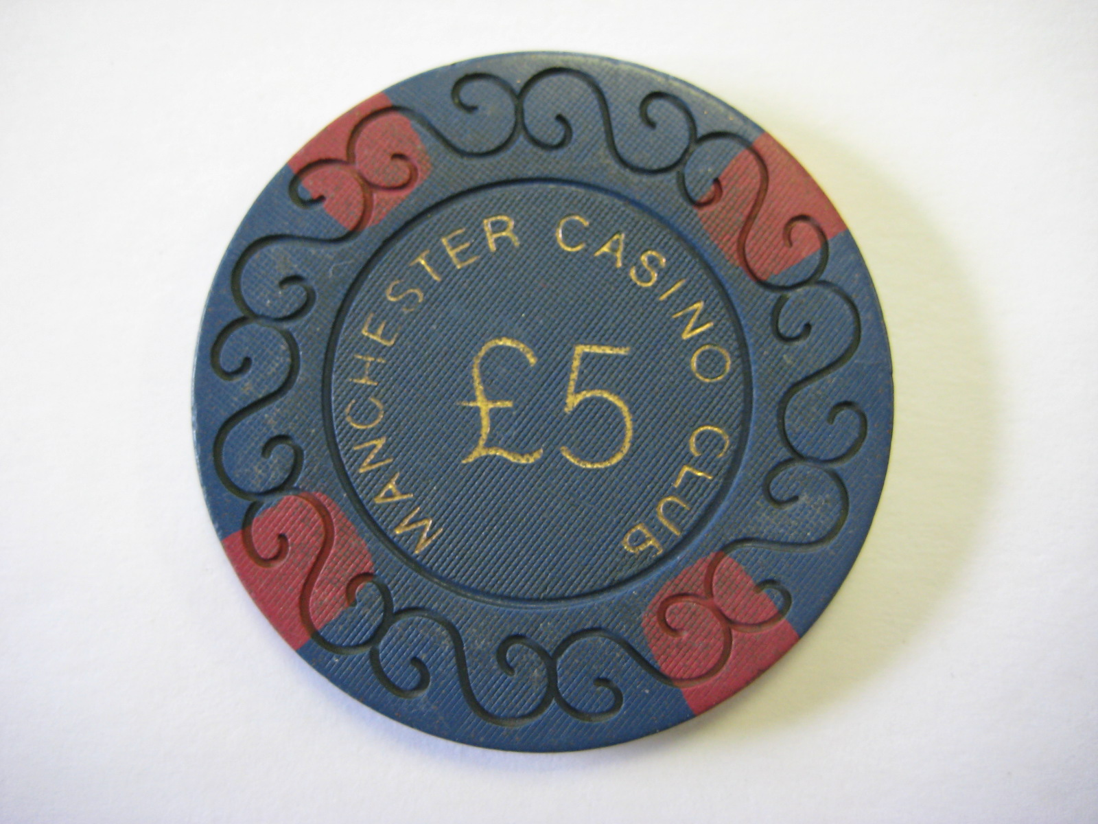 Manchester Playboy Casino Club 5 Pound Chip