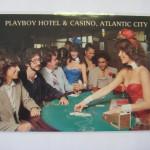 Playboy Atlantic City Post Card