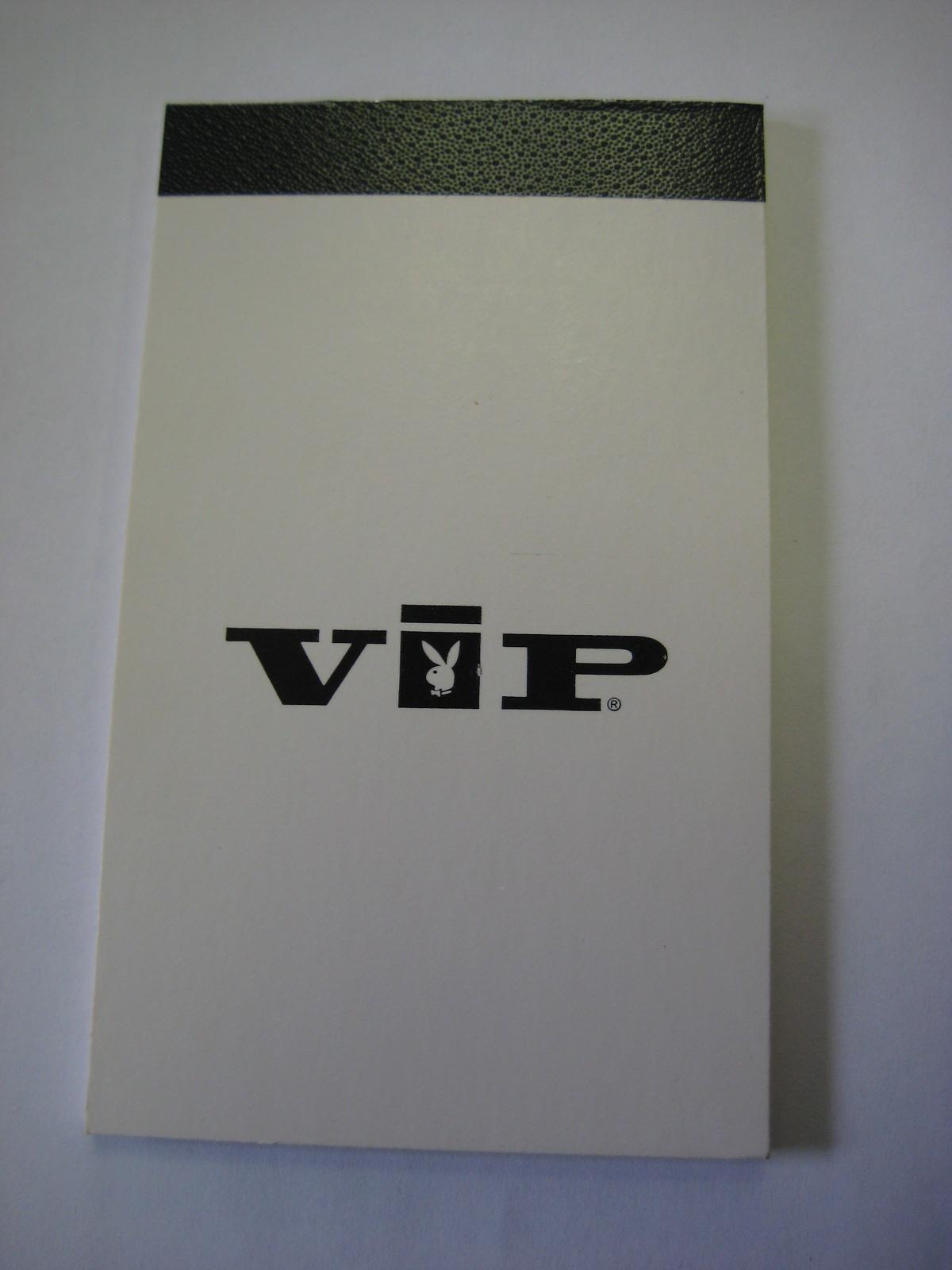 Playboy VIP Notebook