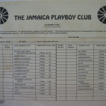 Playboy Jamaica Laundry List