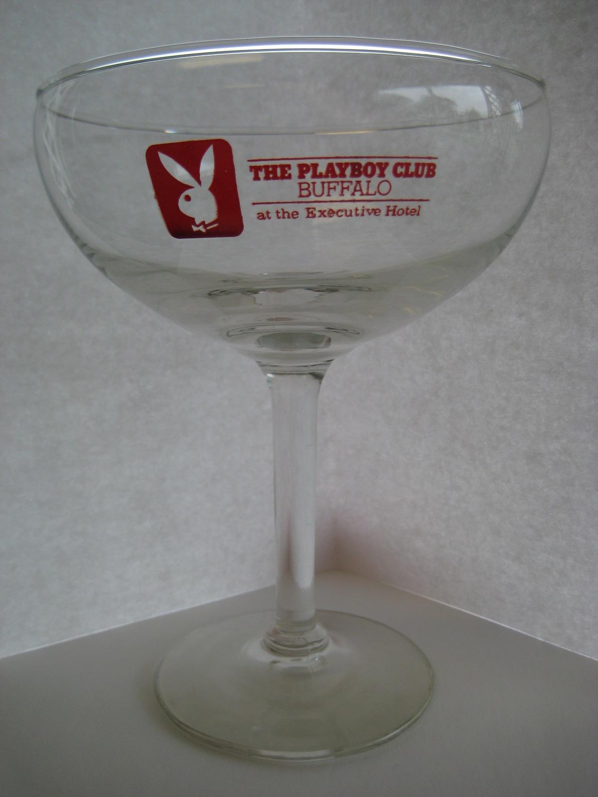 The Playboy Club Buffalo Margarita Glass