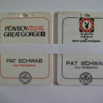 Playboy Great Gorge Golf Bag Tags