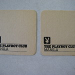 Playboy Club Manila Coasters