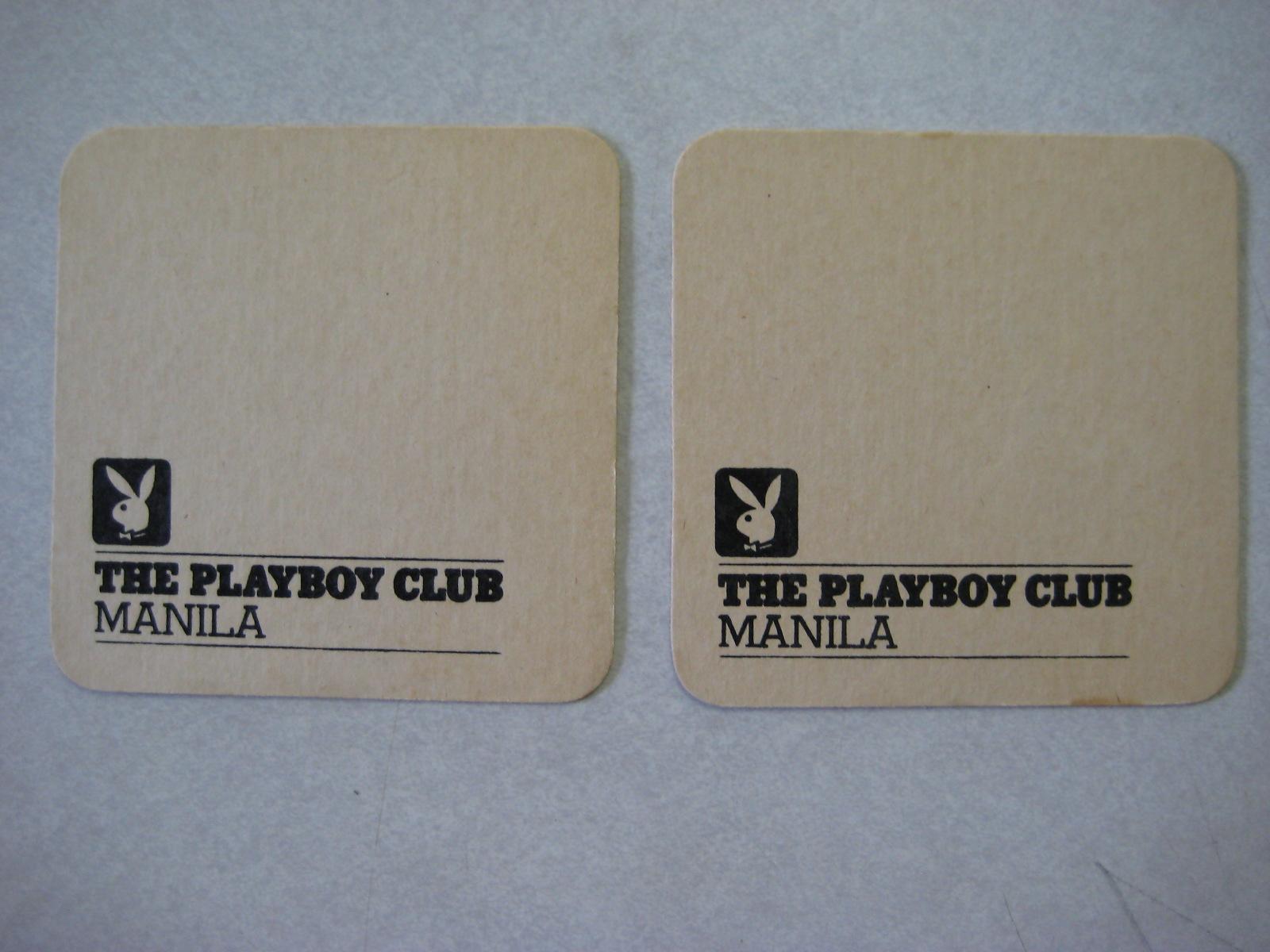Playboy Club Manila Coasters