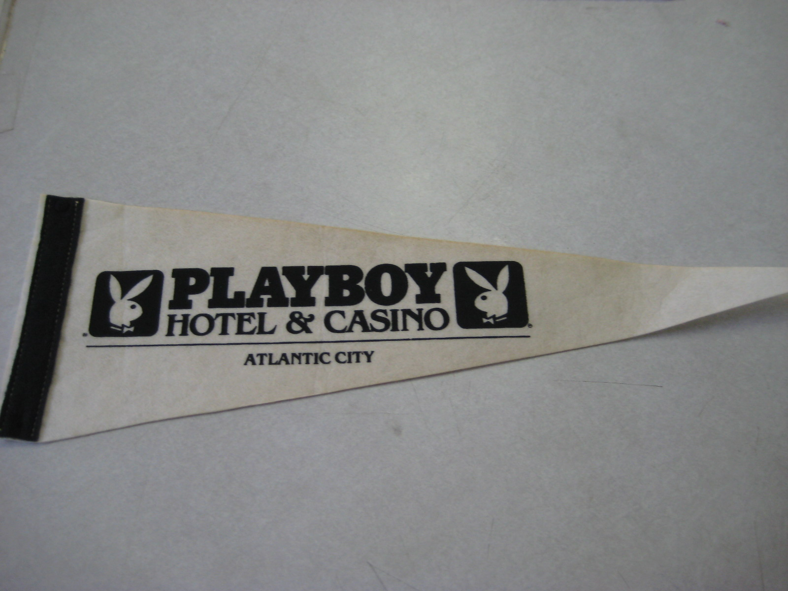 Playboy Hotel and Casino Atlantic City Pennant
