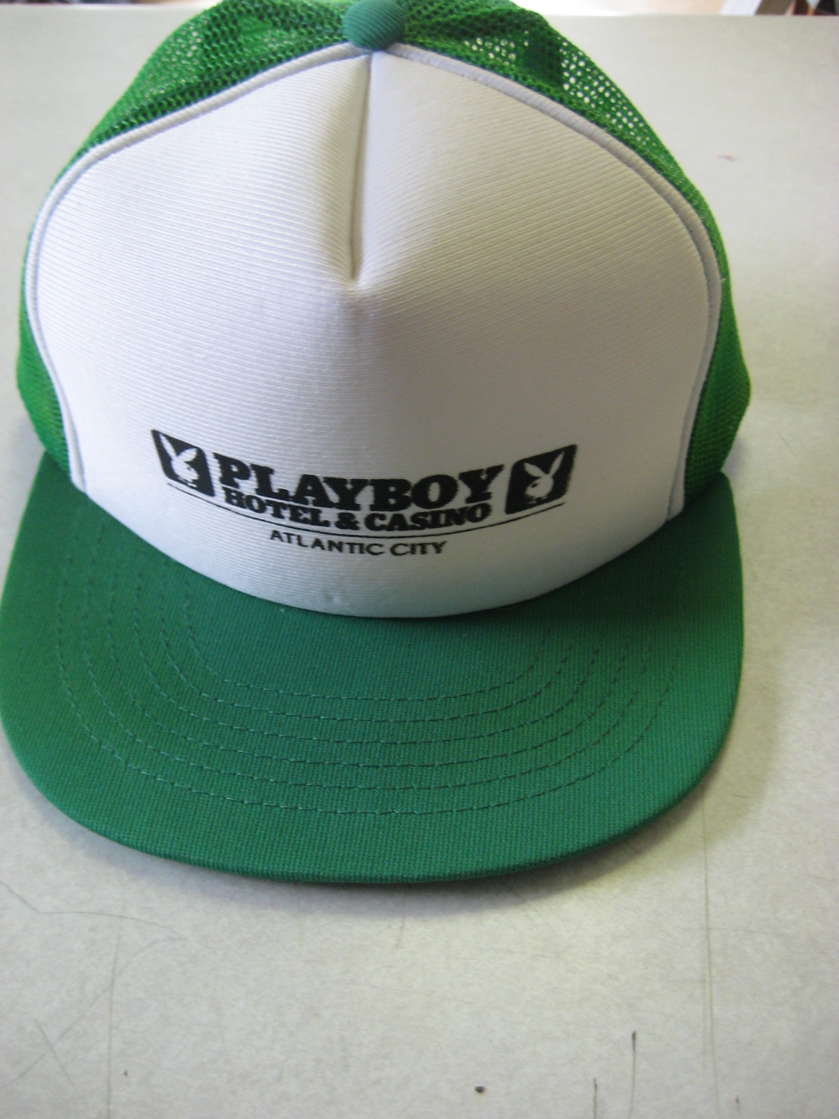 Playboy Hotel and Casino Atlantic City Green Hat