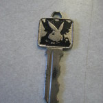 London Playboy Club preview metal key
