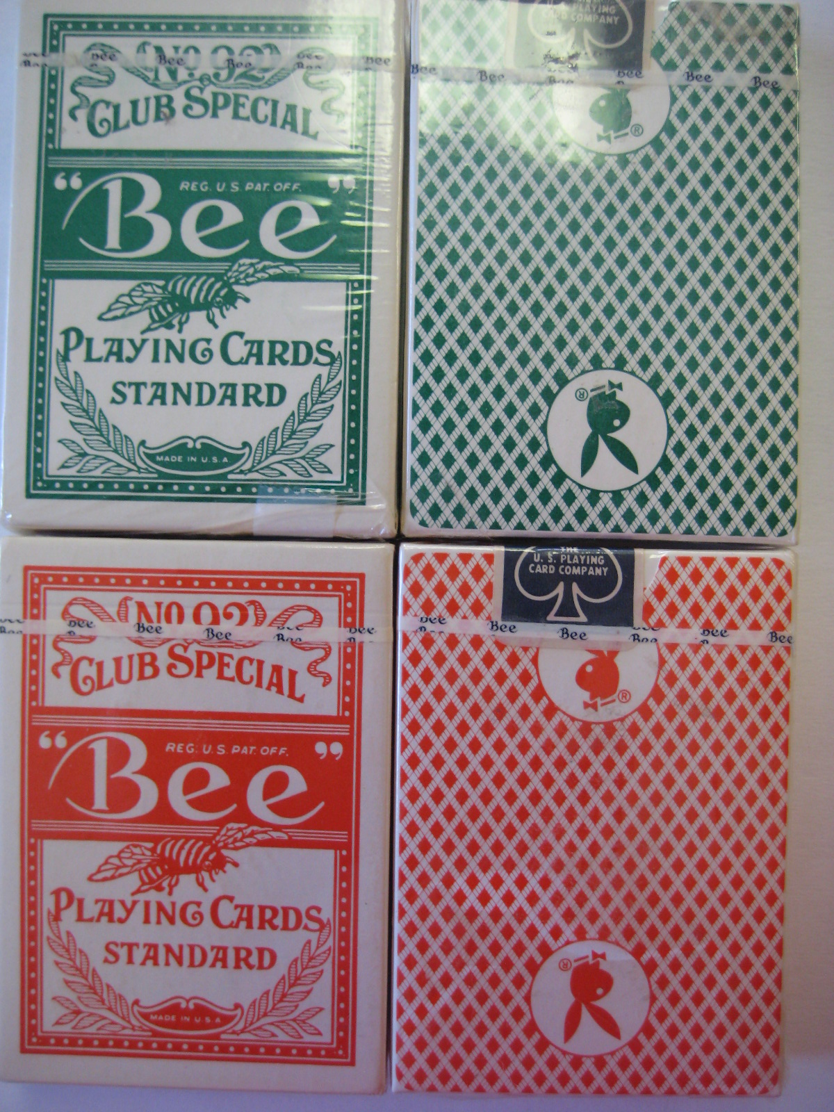 Sealed Playboy Atlantic City Playing Cards