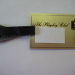 Playboy Club Luggage Tag