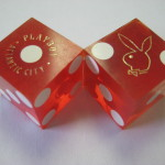 Playboy Atlantic City Club Dice not Drilled