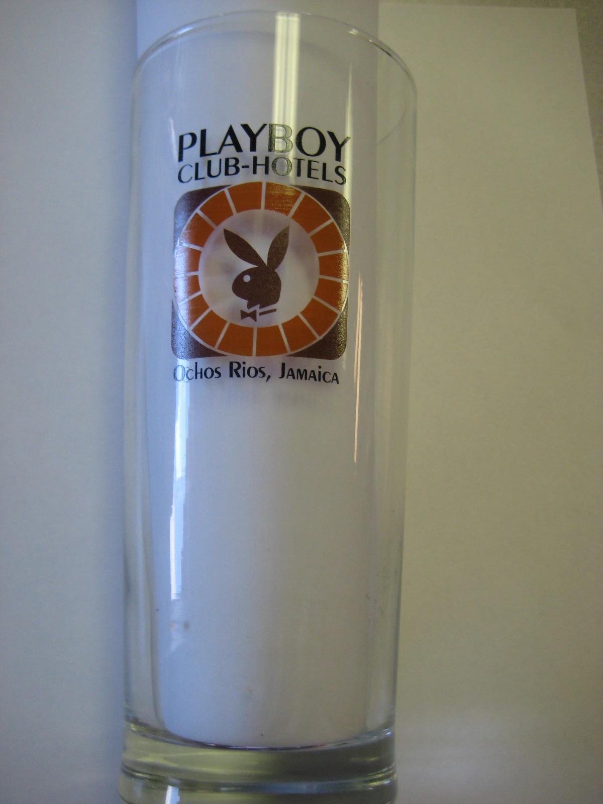 Playboy Jamaica Pint Glass