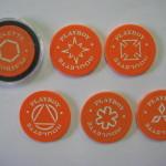 Orange Playboy Roulette