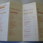 Playboy Lake Geneva Room Service Menu