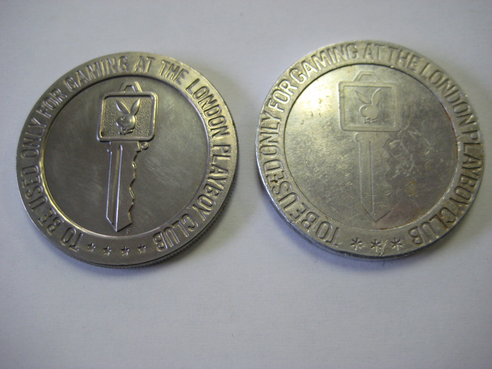 1966 1972 Playboy London Slot Token