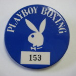 Playboy Club Atlantic City Boxing Pin