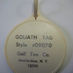 Playboy Club Hotel Golf Tag Prototype