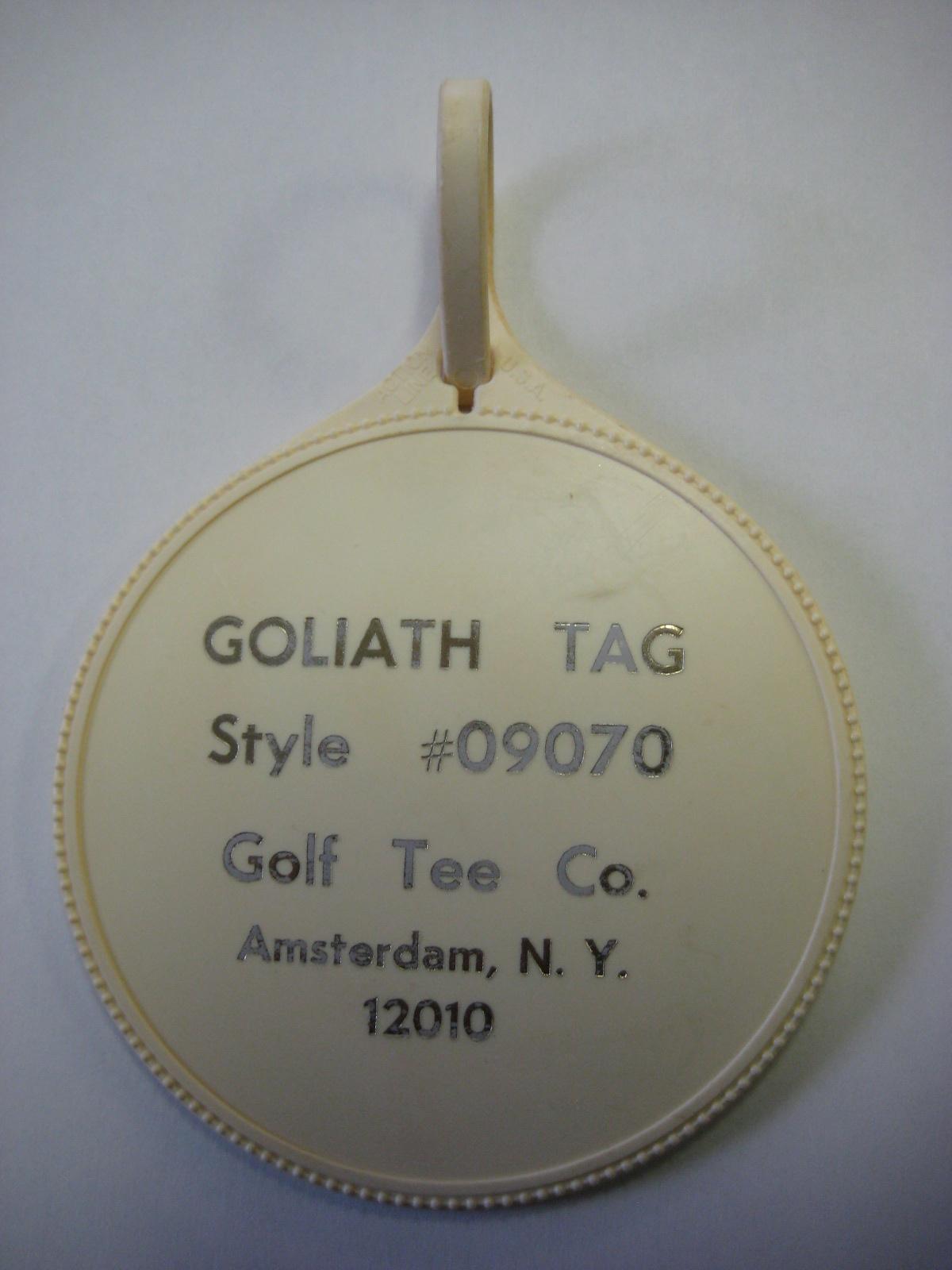 Playboy Club Hotel Golf Tag Prototype