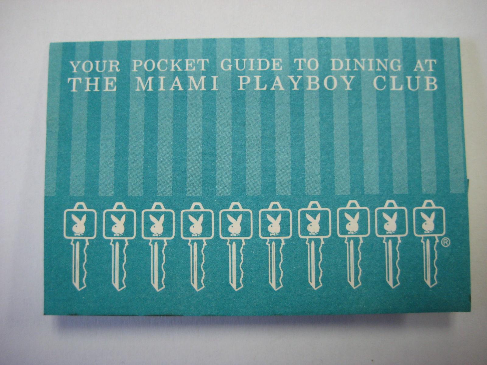 Playboy Club Miami Pocket Guide