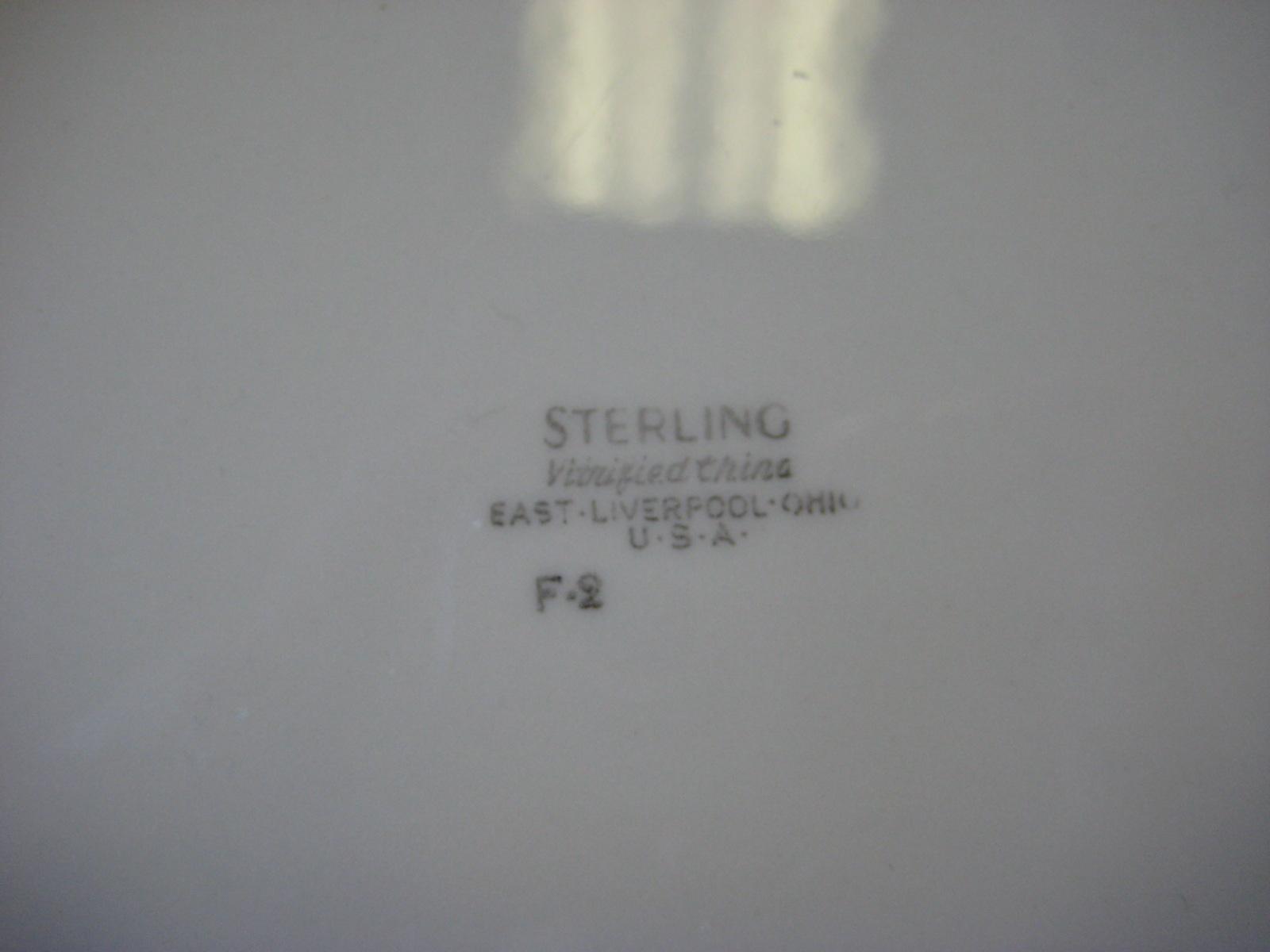 Playboy Club Sterling China F-2