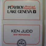 Playboy Resort and Country Club Lake Geneva Ken Judd