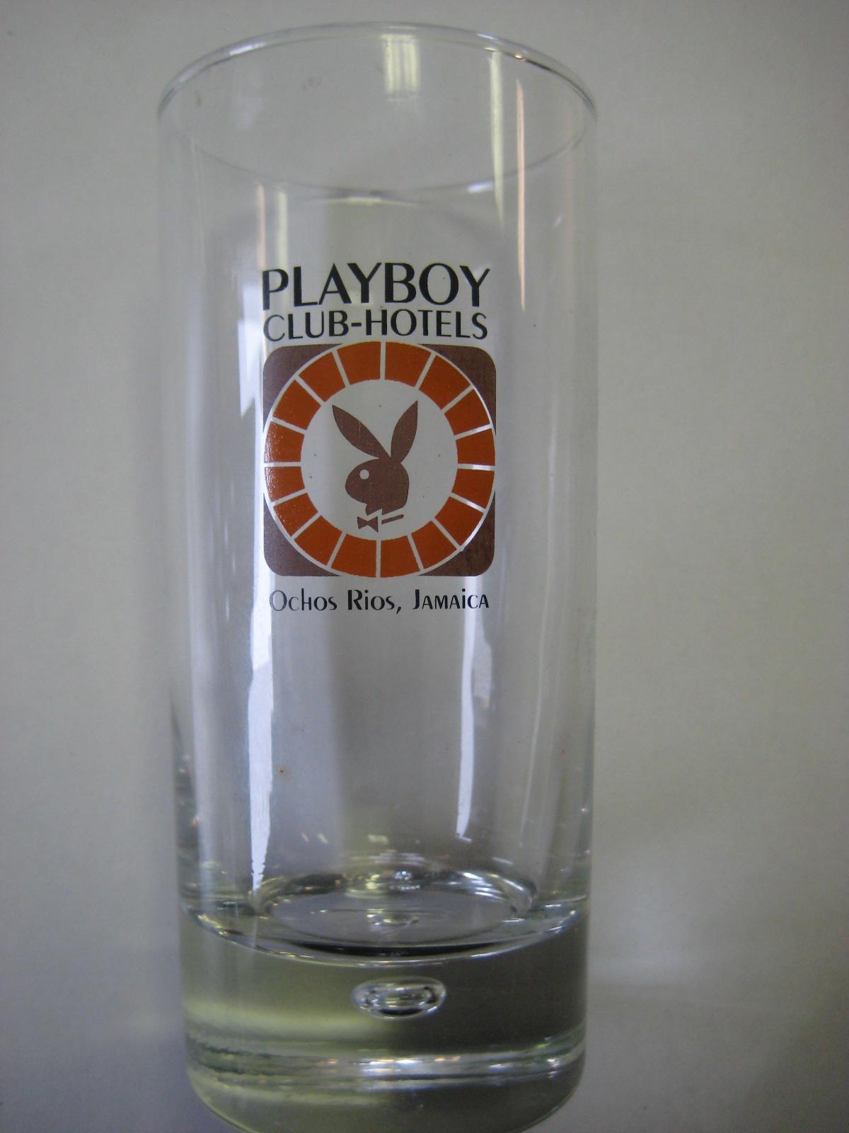 Jamaica Playboy Club Hotel Highball Glass