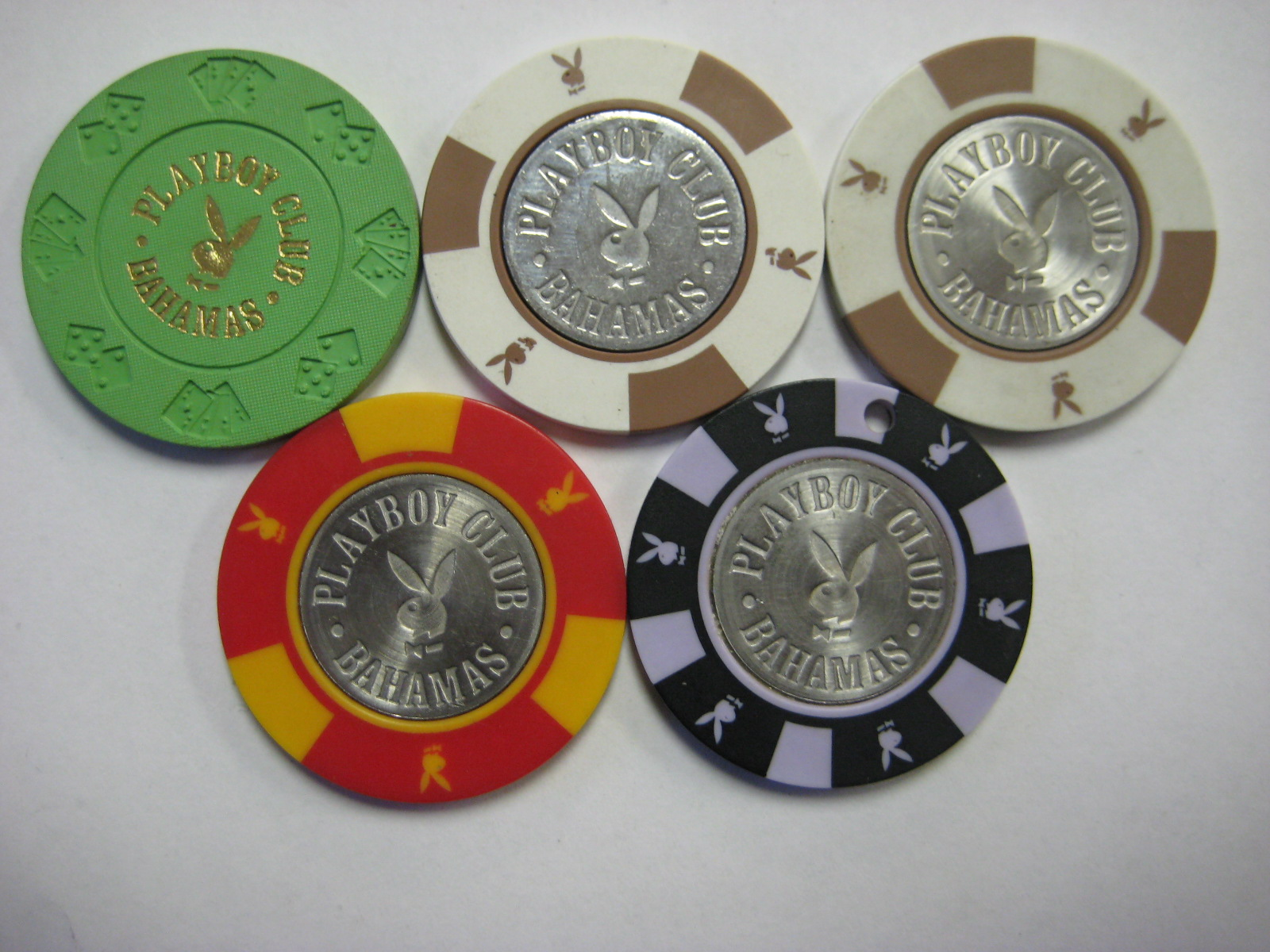 Bahamas Playboy Club Casino Chips